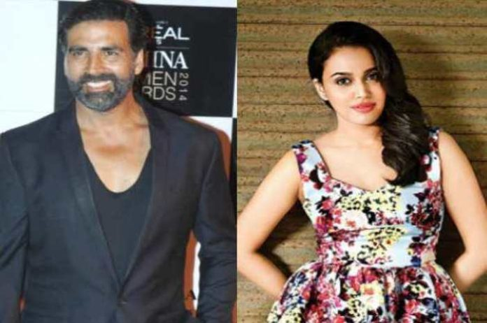 Akshay Kumar's opposite can see film gold in Swara bhaskar