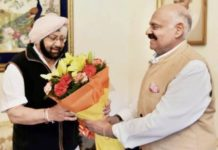 Amarinder Singh becomes CM of Punjab
