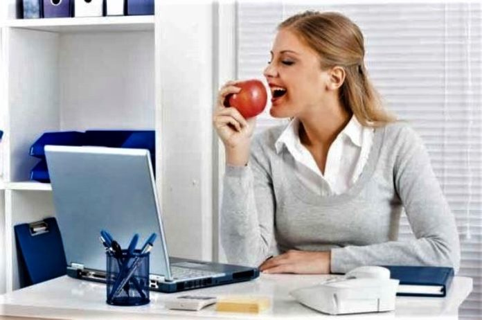 Ways to stay healthy in the office