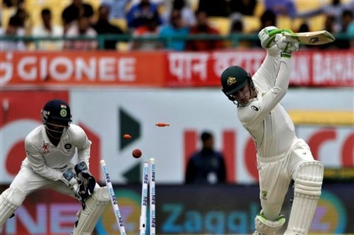 India vs Australia, fourth Test AUS 300 runs in the first innings