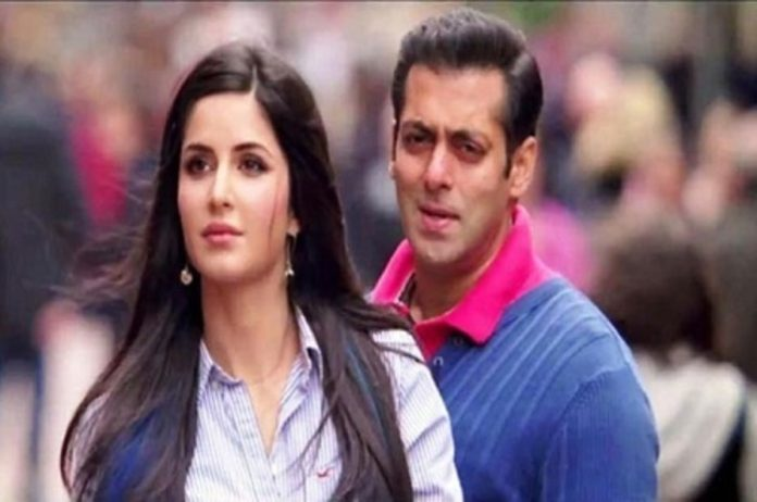 Salman Khan Katrina left alone on the sets of 'Tiger Jinda Hai' left them with him