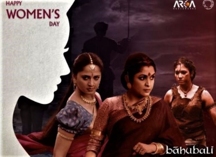 Bahubali special photo share for your fans on Woman Day