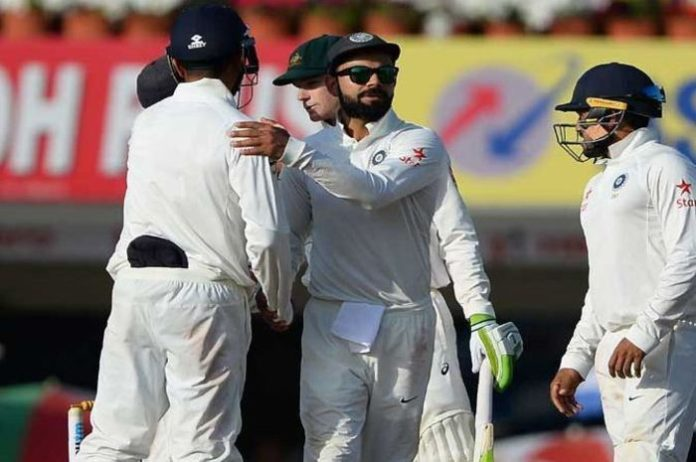 Third Test Match drow between India and Australia