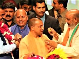 Yogi will become Adityanath UP CM will take oath in a while