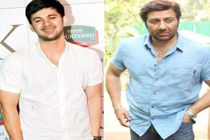Sunny Deol started shooting for his son Karan Deol's debut film in Manali's Hasin Tadis