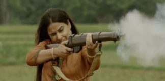 Learned to play rifle in just 10 days, Vidya Balan