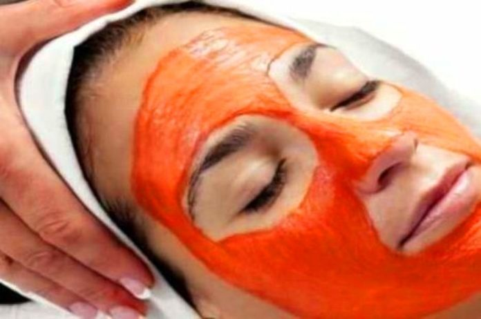 your face mask with tomato