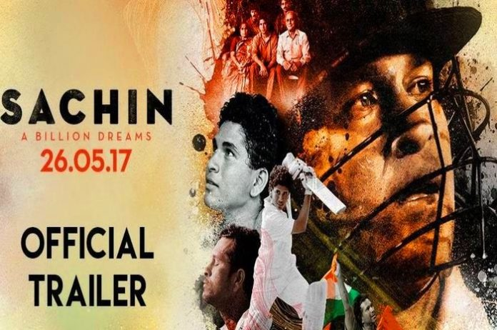 Sachin's film 'Sachin A Billion Dreams' trailer released, watch video