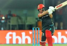 AB de Villiers's fanfare in Indore Studded 9 sixes