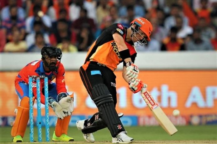 Raina's Gujarat Lions fly in Captain Warner's storm