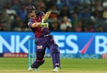 Smith consistent 2 six in the last over And thus lost the Mumbai Indians
