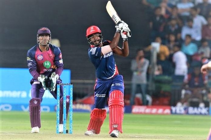 Rising Pune SuperJoint fly in the storm of Sanju Samson