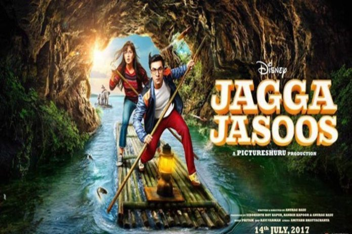 Release of new poster for 'Jagga Jasoos'