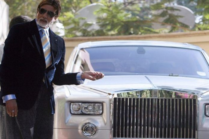 This is Amitabh's luxury car