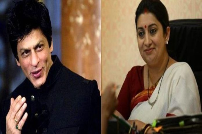 The connection between Smriti Irani's daughter and Shahrukh Khan came in front