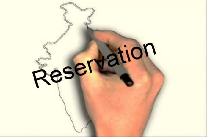 Reservation and plight of India