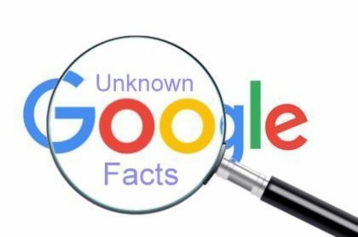 Google Unknown facts