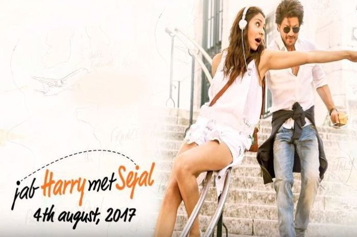 Shahrukh Khan and Anushka Sharma