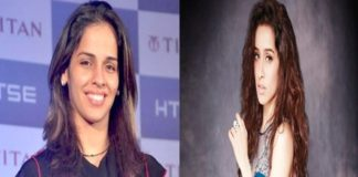 Saina Nehwal and Shraddha Kapoor
