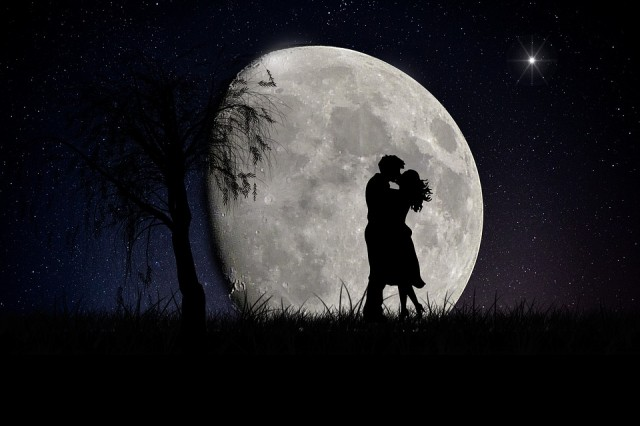 moonlight night love