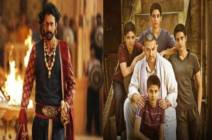Baahubali 2 and Dangal