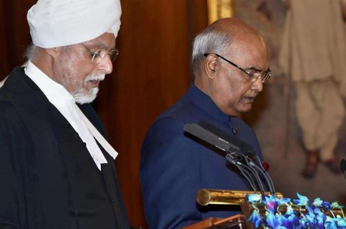 ramnath kovind oath 25 july