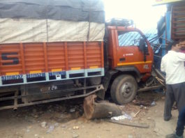 Faridabad Road Accident