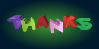How to say Thanks