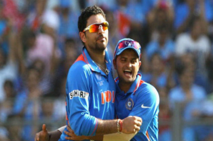 Yuvraj and Raina