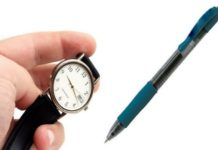 Watch And Pen