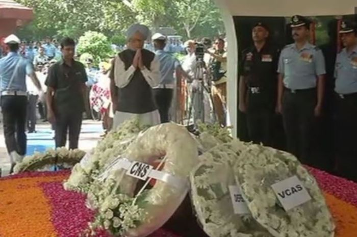 funeral of Air Chief Marshal Arjan Singh's