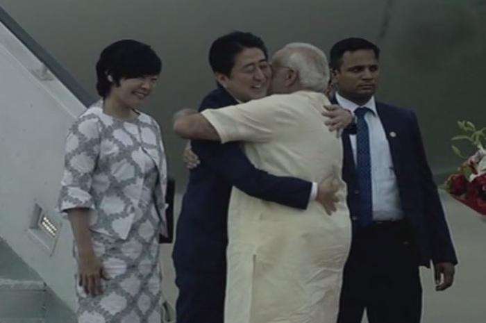modi and shinzo