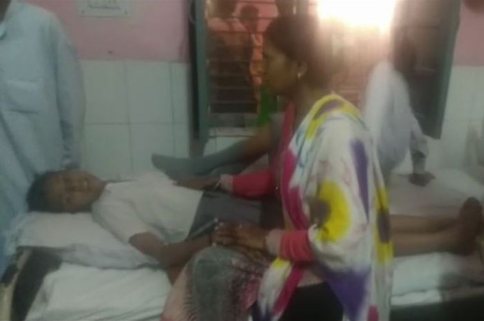 Injure Child IN shamli