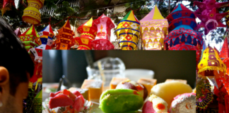 Sweets colors in Diwali