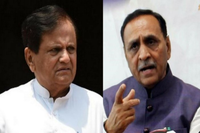 ahmed patel and vijay rupani