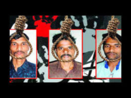 Death penalty for all three convicts