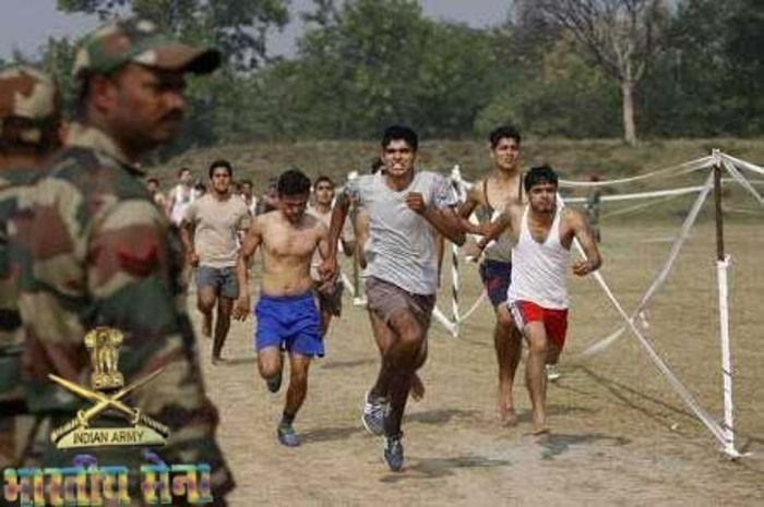 Race For Selection in INdian Army