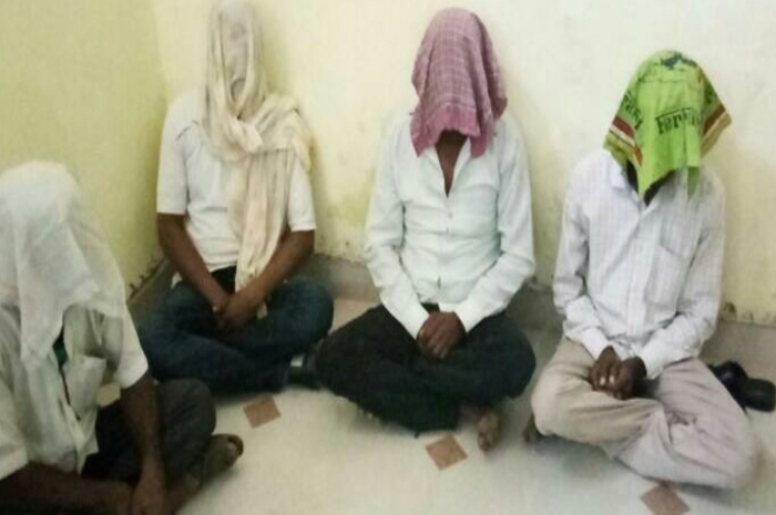 4 accused arrested