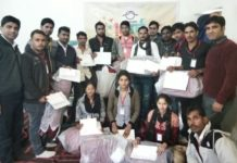 mohanpura clustret celebrated the 10th fundation day of girl education