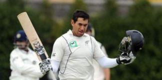 ross taylor test match 17 th century