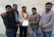 Savaramal Muwal became the State vice president of Veer Teja Sena in Jaipur
