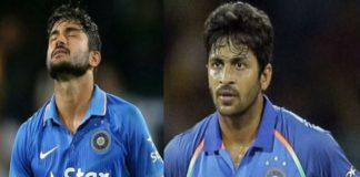 Shardul Thakur and Manish Pandey