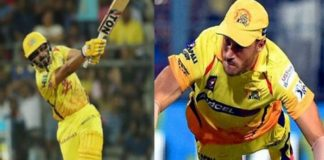 faf du and kedar in csk