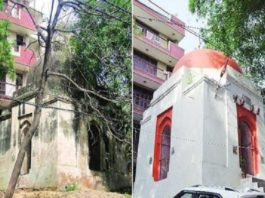 Makbara Converted into Tample