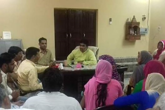 Meeting for village devlopment
