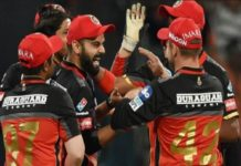 RCB Team In IPL 2018