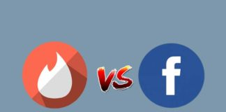 Tinder vs Facebook dating app